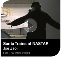 Santa Trains at NASTAR