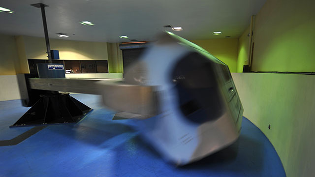 Centrifuge takes last spin