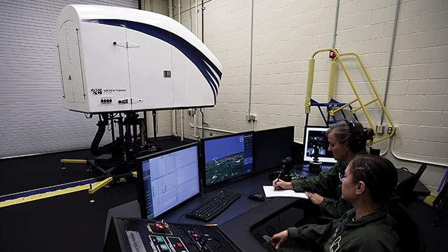 ETC's Aircrew Training Systems Announces Acceptance of the Fifth Spatial Disorientation Flight Trainer by the USAF