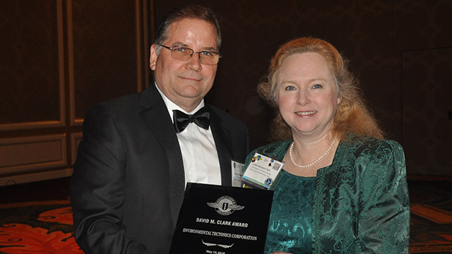 ETC Receives the Aerospace Medical Association's First Annual David M. Clark Award